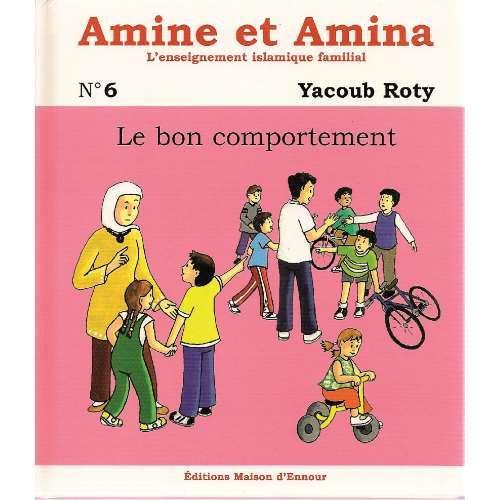 Amine et Amina - n°6 : Le bon comportement-0