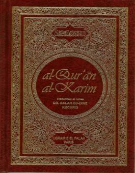 Le Saint Coran et la traduction en lanague française du sens de ses versets-0