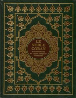 Le Noble Coran et la traduction en langue française de ses sens (Grand Format)-0