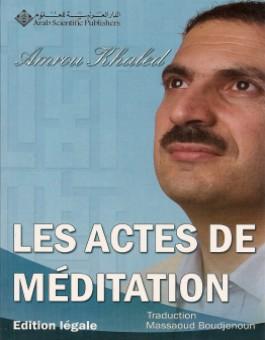 Les actes de méditation -0