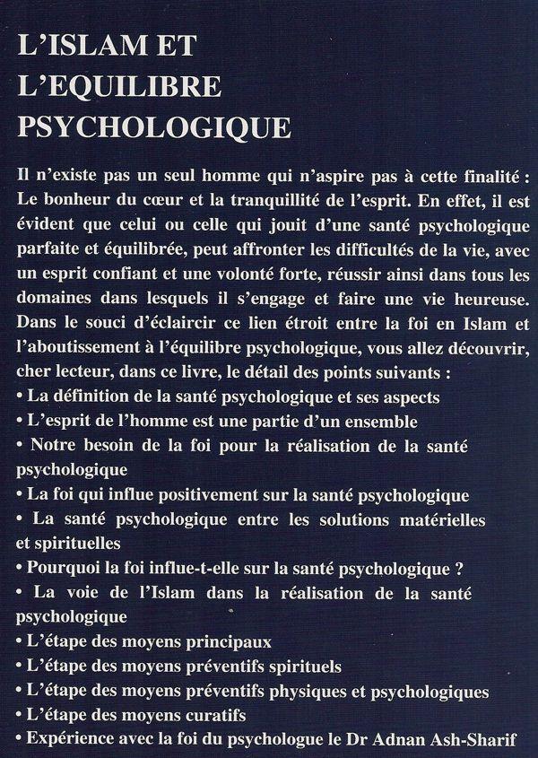 L'islam et l'équilibre psychologique-8235
