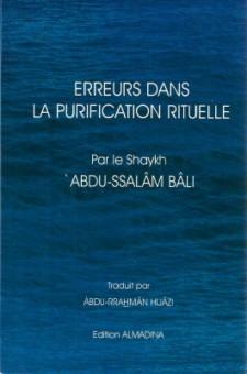 Erreurs dans la purification rituelle