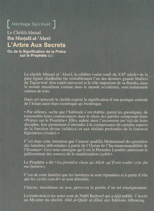 L'Arbre aux secrets ou de la signification de la prière sur le Prophète-1708