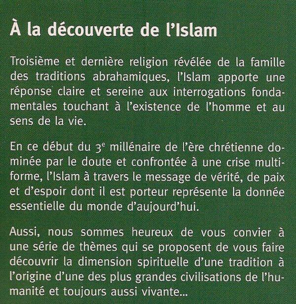 A la découverte de l'Islam -Tome 2-1575