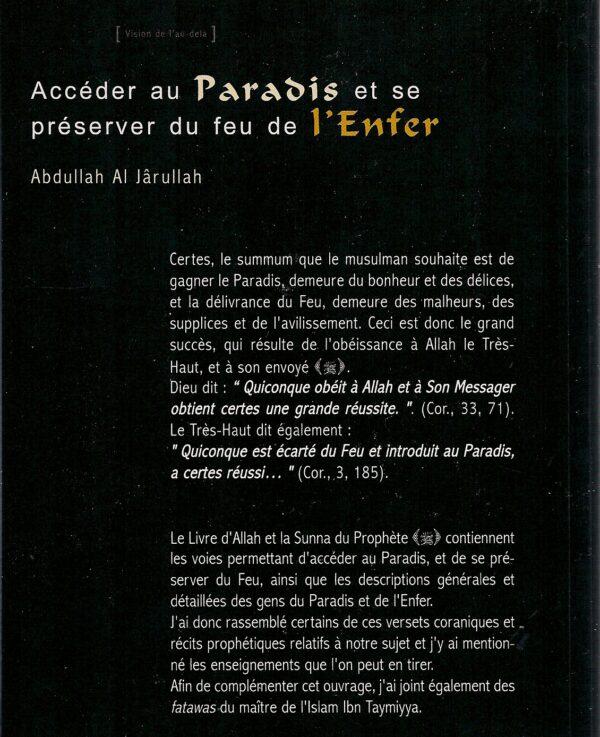 Accéder au Paradis et se préserver du feu de l'Enfer-1762