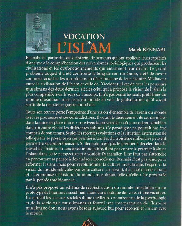 Vocation de l'islam -1769