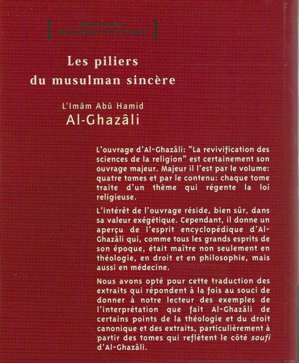 Les piliers du musulman sincère-1810