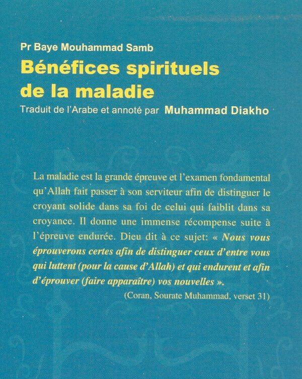 Bénéfices spirituels de la maladie -1833