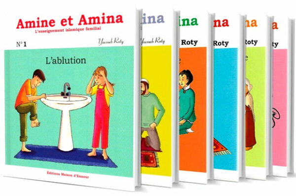Amine et Amina : Toute la collection (6 livres)-0