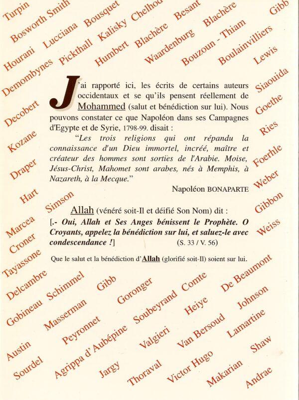Muhammad et ce que pensent les Occidentaux-2186