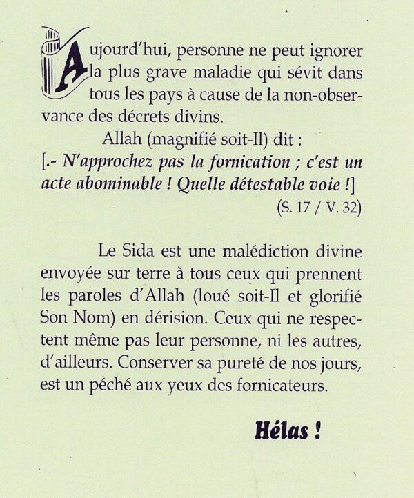 Pourquoi la fornication est interdite en Islam ?-2111