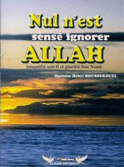 Nul n'est censé ignorer Allah-0