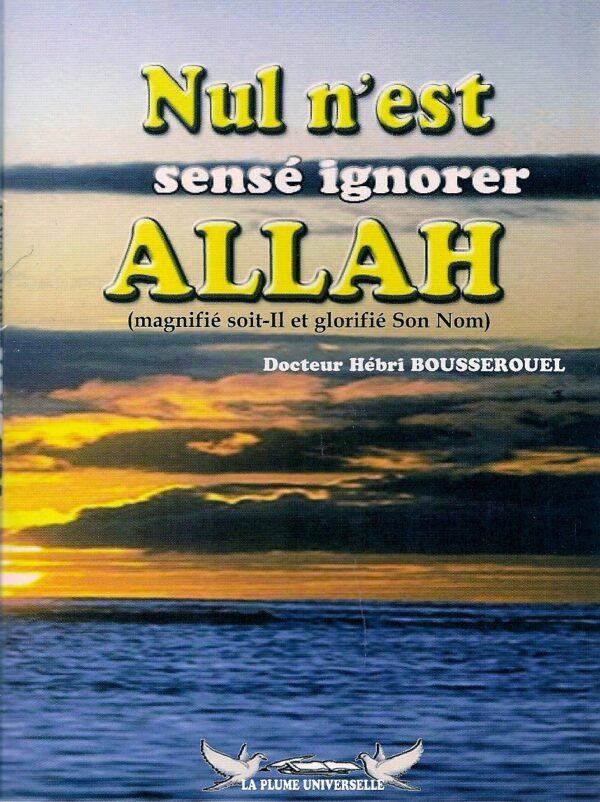 Nul n'est censé ignorer Allah-2097