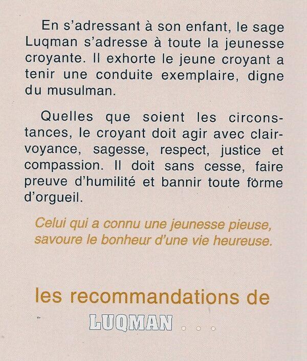 Les recommandations de Luqman à la jeunesse musulmane-2310