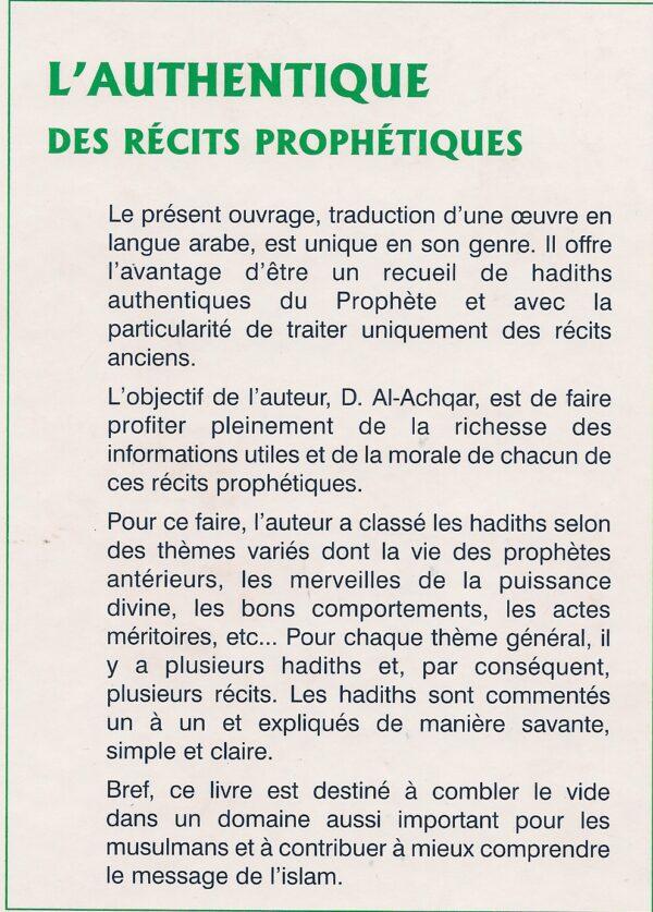 L'authentique des récits prophétiques-2576