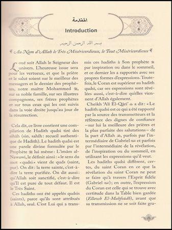 Somme de Hadiths Qudsi avec commentaires (Souple)-8082