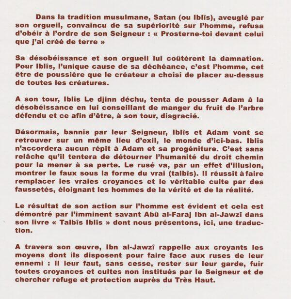 Talbis Iblis - Les ruses de Satan-2901