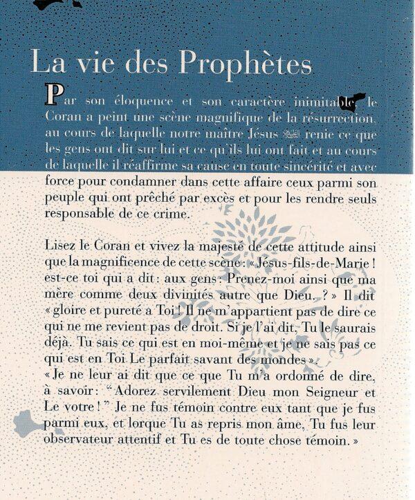 La vie des prophètes -2955