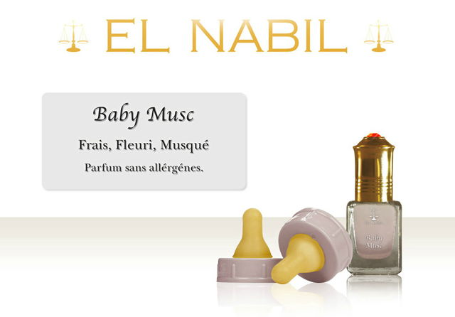 Parfum El Nabil : Baby Musc (Enfant)-0