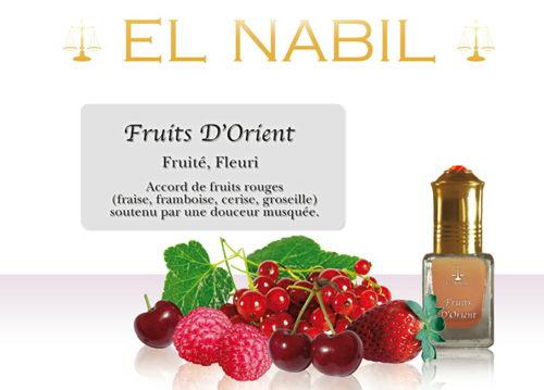 Parfum El Nabil : Fruit D'Orient (Femme/mixte)-0