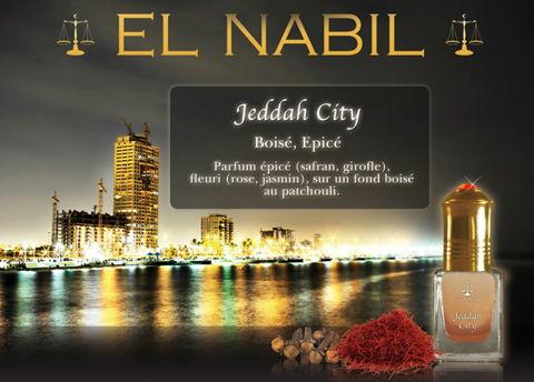 Parfum El Nabil : Jeddah City (Homme)-0