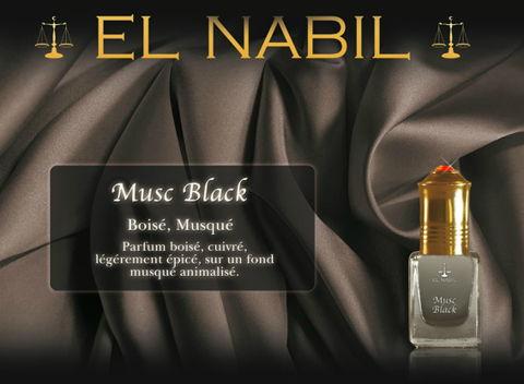 Parfum El Nabil : Musc Black (Homme)-0