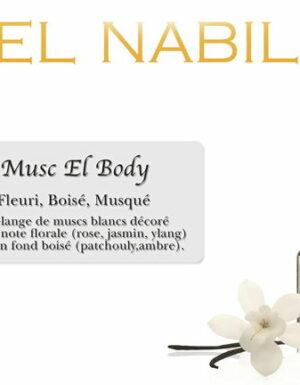 Parfum El Nabil : Musc El Body (Femme/mixte)-0