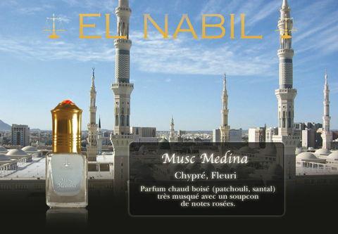 Parfum El Nabil : Musc Medina (Homme)-0