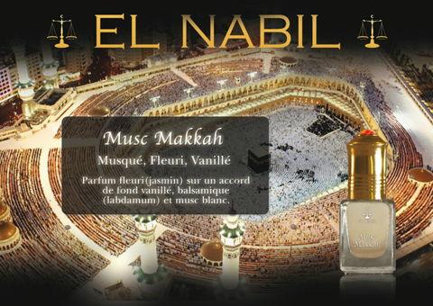 Parfum El Nabil : Musc Makkah (Homme)-0