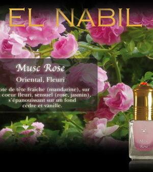 Parfum El Nabil : Musc Roses (Femme)-0
