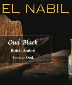 Parfum El Nabil : Oud Black (Homme)