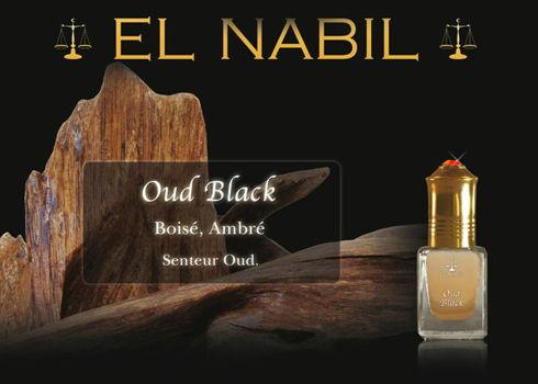 Parfum El Nabil : Oud Black (Homme)-0