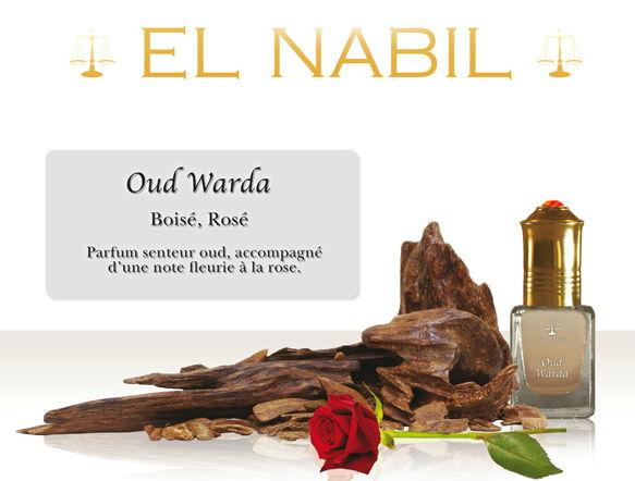 Parfum El Nabil : Oud Warda (Homme)-0