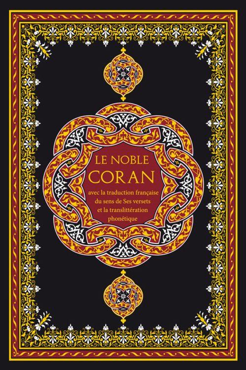 Le Noble Coran Français-Arabe-Phonétique avec CD (grand format)-5951