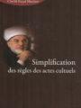 Simplification des règles des actes culturels -0