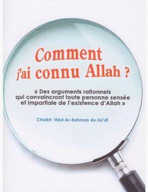 Comment j'ai connu Allah ?