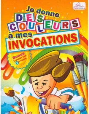 Je donne des couleurs à mes invocations