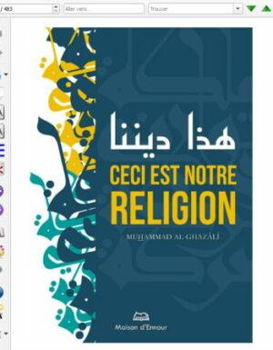 Ceci est notre religion – Format eBook