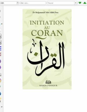 Initiation au Coran – Format eBook
