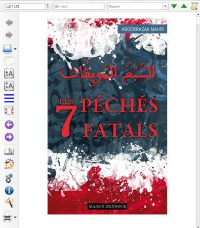 Les 7 péchés fatals - Format eBook-0