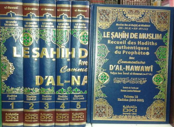 Le sahih de Muslim - 10 Volumes - DKI - livre de hadith-6224