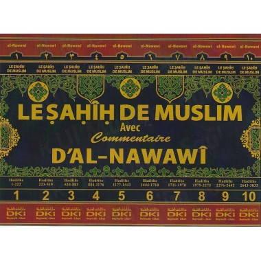 Le sahih de Muslim - 10 Volumes - DKI - livre de hadith-0