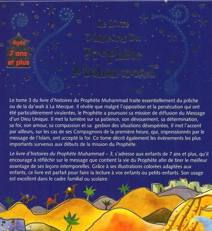 Le livre d'histoires du Prophète Muhammad - La mission du Prophète à la Mecque - Volume 3-6256