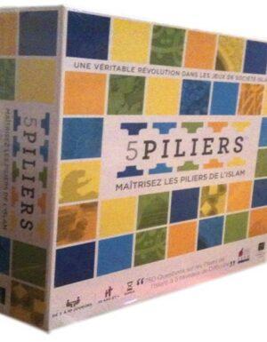 5 Piliers – Jeux de Société – 750 Questions sur les piliers de l'Islam –