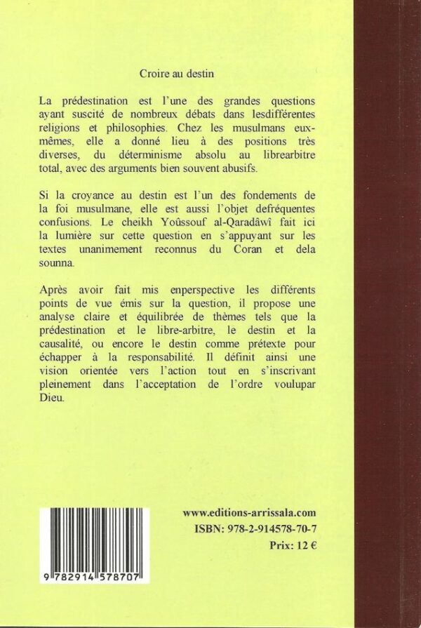 Croire au Destin (Dr Youssouf al-Qaradawi)-6462
