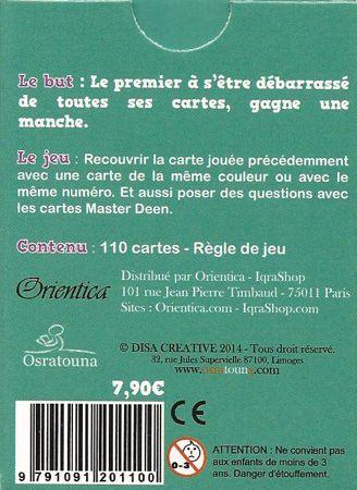 Jeu de cartes Master Deen Junior-6260