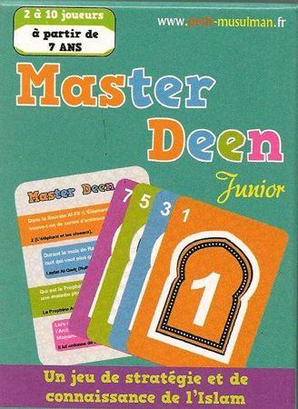 Jeu de cartes Master Deen Junior-0