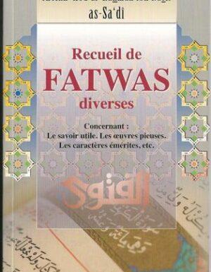 Recueil des fatwas diverses-0