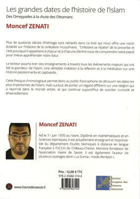 Les grandes dates de l'Histoire de l'Islam - Havre de savoir - Moncef Zenati-6244