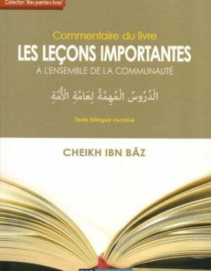 Commentaire du Livre «Leçons Importantes»